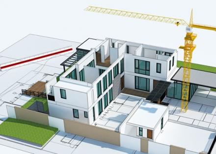 3D Building Plan