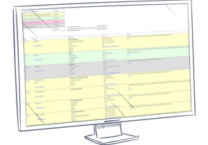 PITS sub-contractor listing screenshot